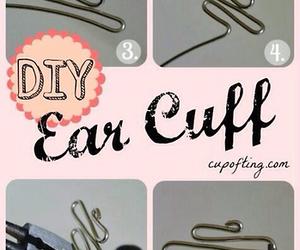 diy, ear, and tutorial image