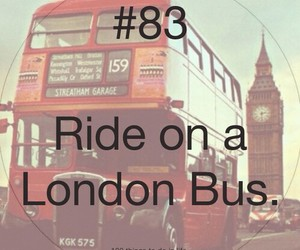 83, 100 things to do in life, and london image