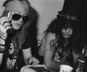 slash, Guns N Roses, and axl rose image
