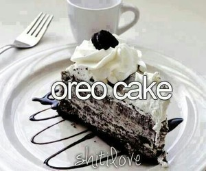 oreo cake and yummy image