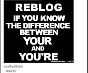 fail, reblog, and you're not your image