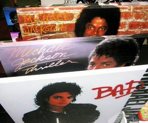 bad, thriller, and cds image