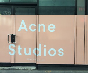 fashion, acne, and acne studios image