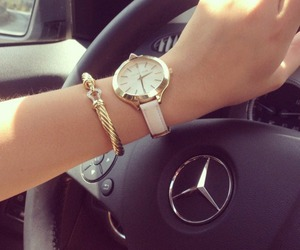 bracelet, car, and fashion image