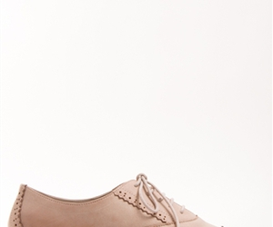 beige, flats, and oxfords image