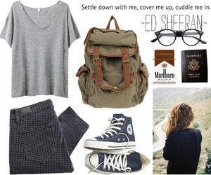 chic, converse, and style image