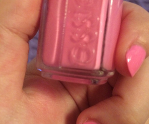 nail polish, pink, and essie image
