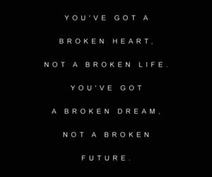 broken, Dream, and heart image