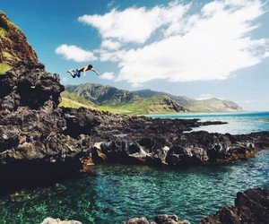 ocean, paradise, and water image