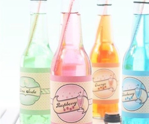 drink, pink, and pastel image