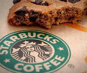 starbucks, cookie, and food image