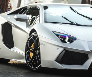 Lamborghini, photography, and aventador image