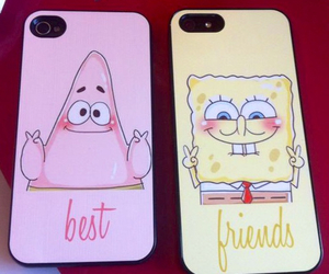 best friend, spongebob, and best friends image