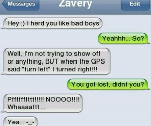 bad boys, gps, and lost image