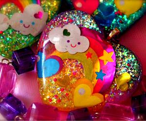 colorful, glitter, and pretty image