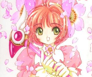 clamp, card captor sakura, and sakura card captor image