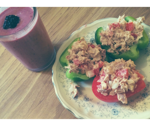 blackberries, morning, and healthy food image