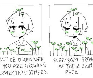 quotes, art, and plants image