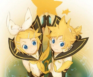 star, vocaloid, and rin image