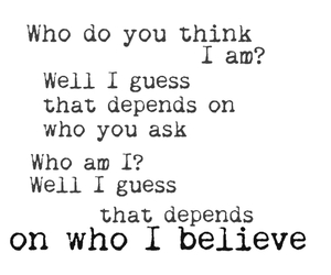 believe, girl, and inspiration image