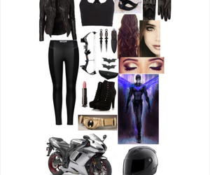Polyvore and superhero outfit image