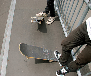 boy, photo, and skate image