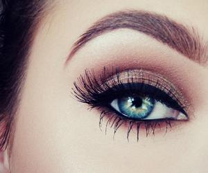 <3, eyes, and makeup image