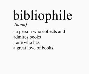 book, bibliophile, and definition image
