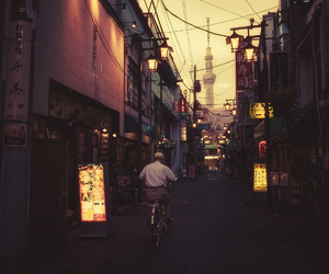 asia, japan, and streets image