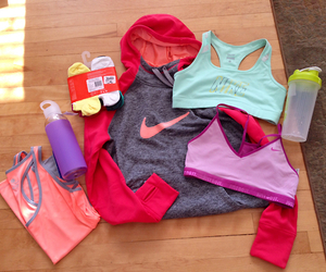 nike, fitness, and clothes image