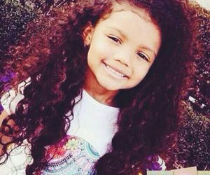curly, hair, and kids image