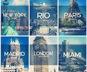 london, paris, and Miami image