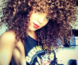 Afro, beauty, and curly image