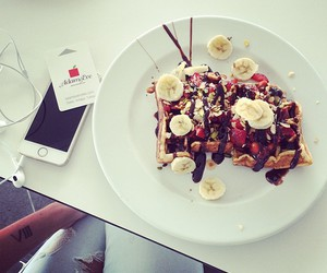 food, iphone, and sweets image