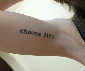 tattoo, life, and arm image