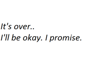 okay, over, and promise image