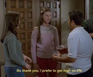 freaks and geeks, funny, and high image