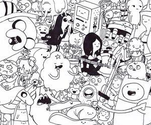 cartoons, finn, and JAKe image