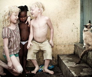 albino, divine, and family love image
