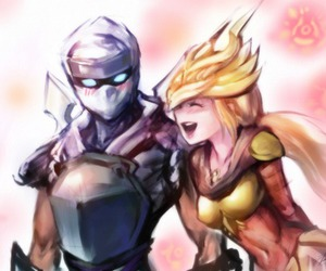 zed, a, and syndra image