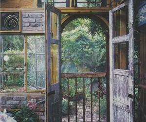 door, vintage, and home image