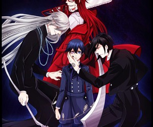 black butler, ciel phantomhive, and anime image