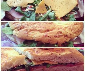 food, sandwich, and 100happydays image
