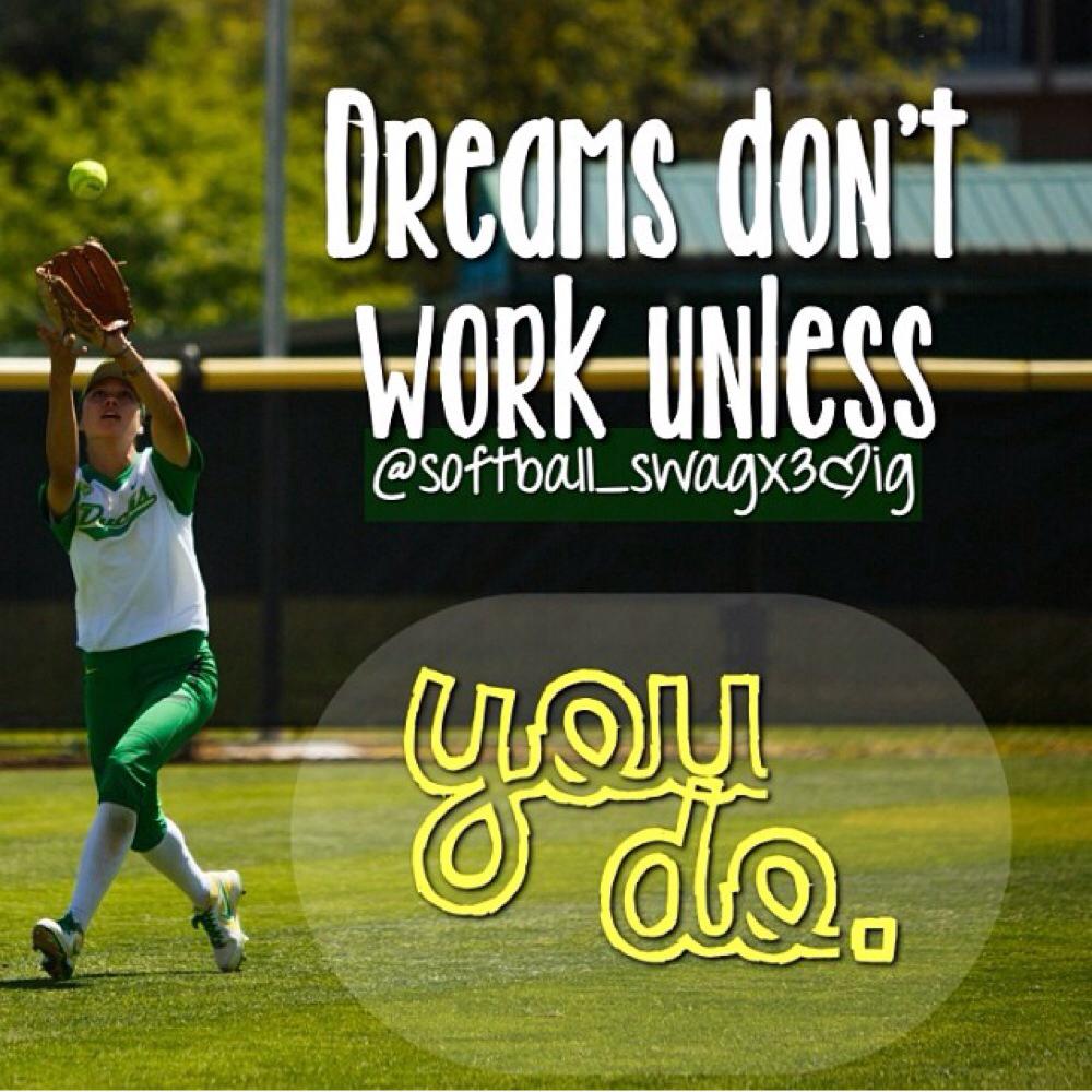 dreams, green, and softball image