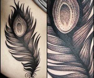 feather and Tattoos image