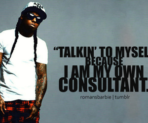 lil wayne, quote, and Weezy image