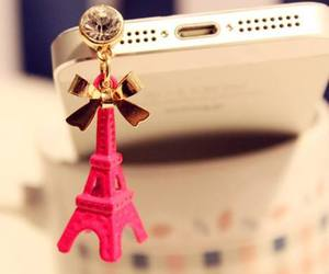 pink, iphone, and paris image