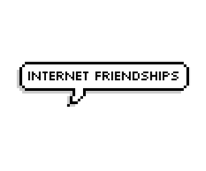 internet, friends, and overlay image