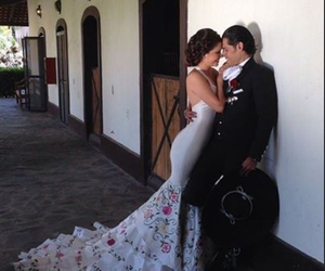 wedding, love, and mexico image