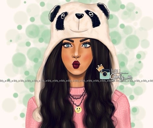 panda, pretty, and sweet image